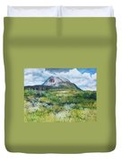 Mount Errigal County Donegal Ireland 2016 Duvet Cover