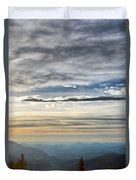 Mount Evans Painterly 1 Duvet Cover