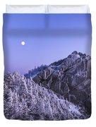 Mount Liberty Blue Hour Duvet Cover