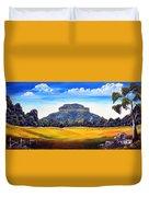 Mount Lindesay,australia Duvet Cover