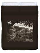 Mount Of Olives Duvet Cover