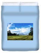 Mount Pagosa Meadow Duvet Cover