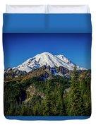Mount Rainier - Eastside Duvet Cover