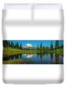 Majestic Reflection - Mount Rainier - 2 Duvet Cover