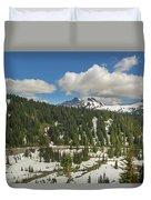Mount Rainier National Park Tatoosh Range Duvet Cover