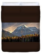 Mount Robson Duvet Cover