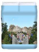 Mount Rushmore Entrance  8713 Duvet Cover