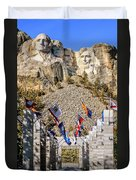 Mount Rushmore Grand View Terrace Duvet Cover