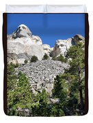 Mount Rushmore II Duvet Cover