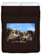 Mount Rushmore In South Dakota Duvet Cover