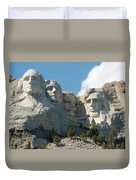Mount Rushmore Monument Duvet Cover