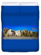 Mount Rushmore National Memorial Duvet Cover