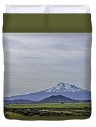 Mount Shasta Majesty Duvet Cover