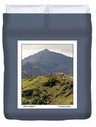 Mount Snowdon Duvet Cover
