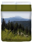 Mount St Helens In Washington State Duvet Cover