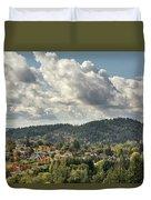 Mount Talbert In Happy Valley Oregon Duvet Cover