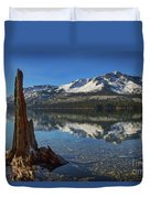 Mount Tallac And Fallen Leaf Lake Duvet Cover