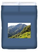 Mount Tamalpais From Blithedale Ridge Duvet Cover