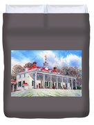 Mount Vernon After The Squall Duvet Cover