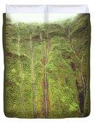 Mount Waialeale Duvet Cover