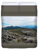 Mount Washington Observatory Duvet Cover