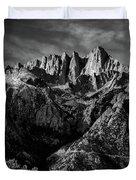 Mount Whitney Duvet Cover