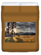 Mountain Afternoon Duvet Cover