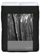 Mountain Aspens Duvet Cover