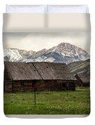 Mountain Barn Duvet Cover