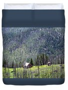 Mountain Cabin Duvet Cover