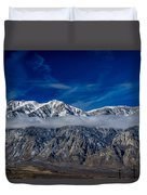 Mountain Cloud Duvet Cover