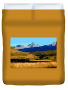 Mountain Country Duvet Cover