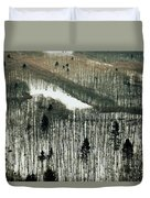 Mountain Forest Duvet Cover