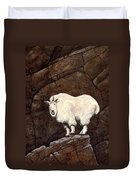 Mountain Goat Duvet Cover