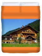 Mountain Guesthouse H B Duvet Cover