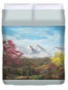 Mountain High Duvet Cover