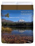 Mountain Home Duvet Cover