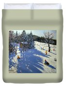 Mountain Hut Duvet Cover