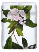 Mountain Laurel Duvet Cover