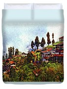 Mountain Living Impasto Duvet Cover