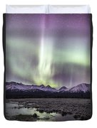 Mountain Magic Duvet Cover