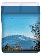 Mountain Majestic Duvet Cover
