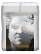 Mountain Man Duvet Cover