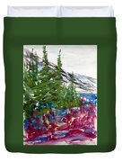 Mountain Meadow Wash Duvet Cover