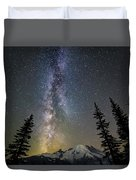 Mountain Milky Way Duvet Cover