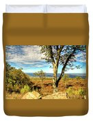 Mountain Overlook At High Point New Jersey Duvet Cover