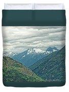 Mountain Pass Duvet Cover