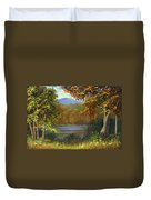 Mountain Pond Duvet Cover