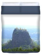 Mount Popa Duvet Cover
