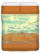 Mountain Range 2 Duvet Cover